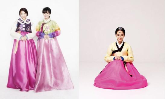 Les filles du groupe Sistar19 et l'actrice Song Ji Hyo