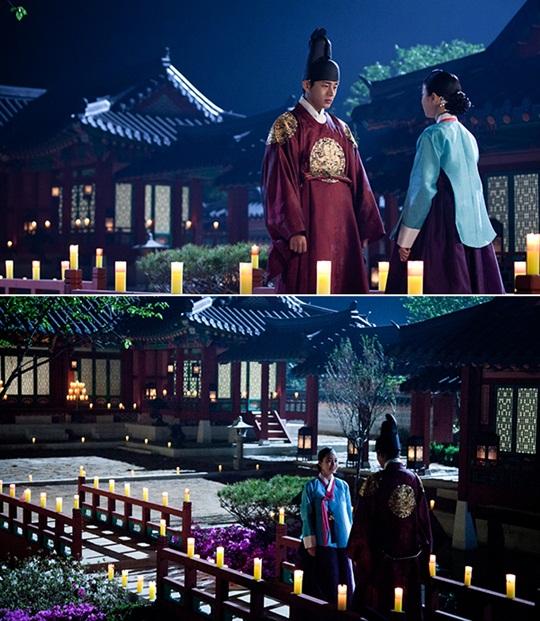 Dans le k-drama, le roi offre le ChuiSeonDang (취선당) à Lady Jang.