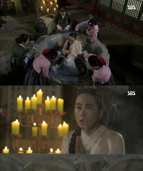 La mère du roi dans le k-drama Jang Ok Jeong Live For Love